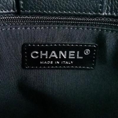 red strap basic logo tote bag black